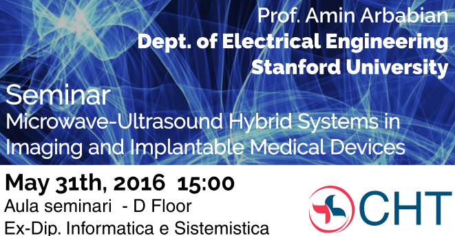 Seminar - 2016/5/31 - Microwave-Ultrasound Hybrid Systems in Imaging and Implantable Medical Devices