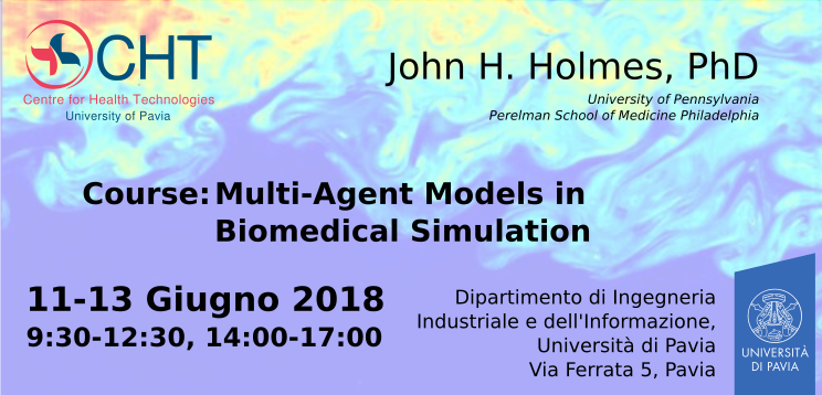 Course: Multi-Agent Models in Biomedical Simulation – CHT – Centre